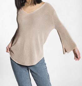 Pink Martini U-Neck Sweater Top