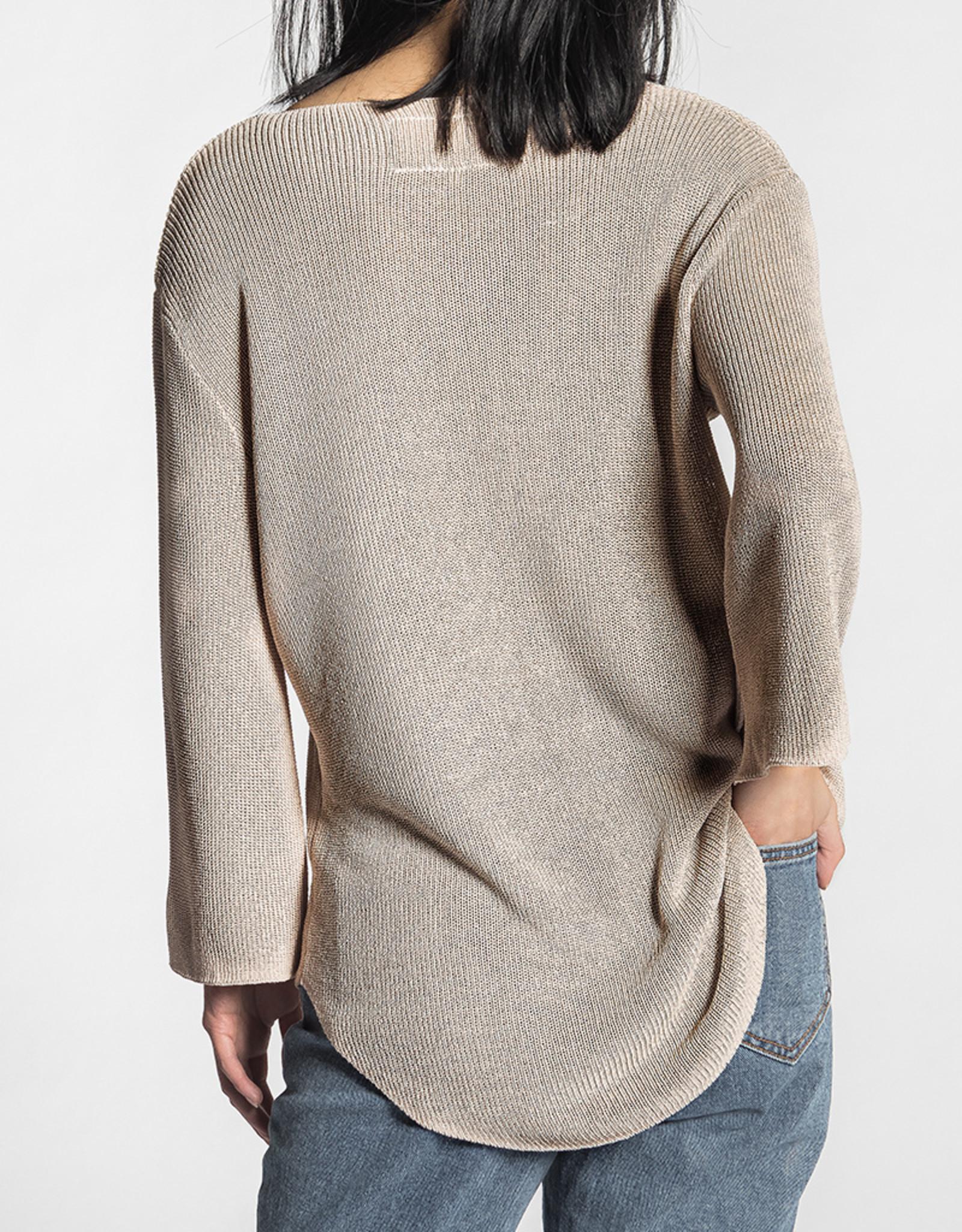 Pink Martini CLEARANCE: U-Neck Sweater Top