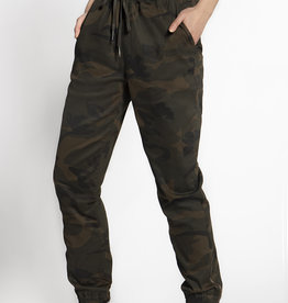RD Style CLEARANCE: Camo Twill Jogger