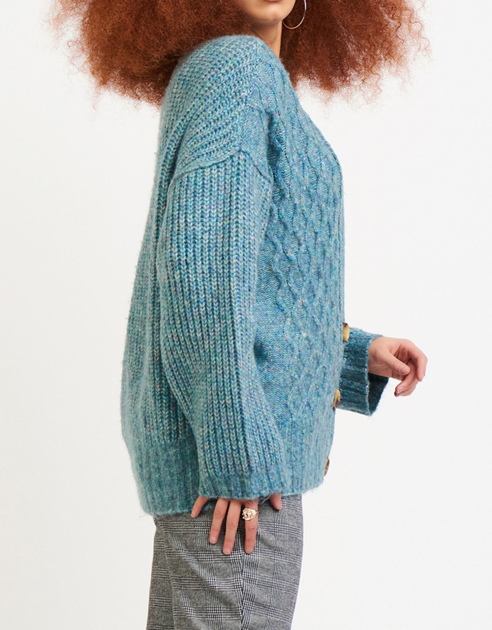 Dex Cable Knit Cardigan