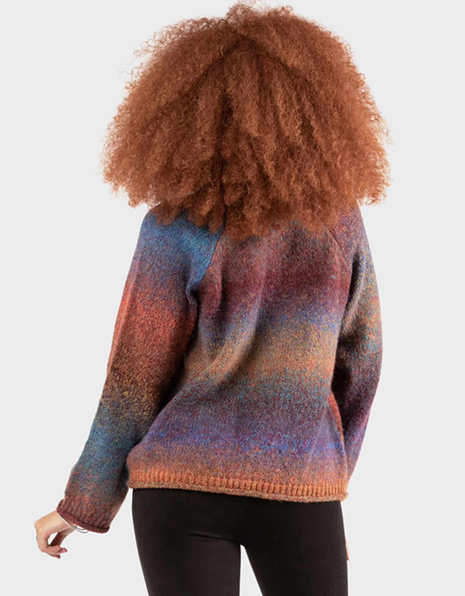 Dex Raglan Rainbow Sweater