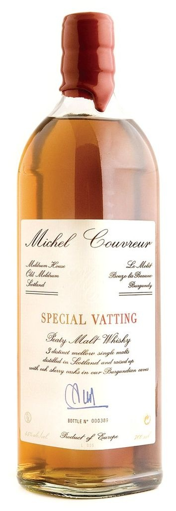 Michel Couvreur Special Vatting Malt Whisky 750ml