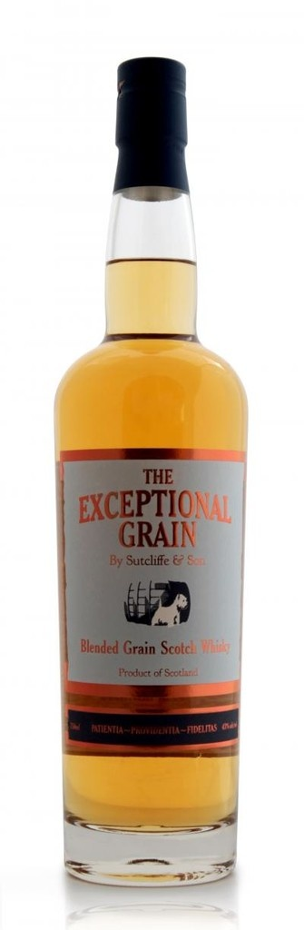 "Sutcliffe & Son ""The Exceptional Grain"" Blended Grain Scotch Whisky"