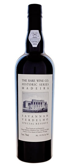 The Rare Wine Company Historic Series Madeira Savannah Verdelho Special Reserve 750ml