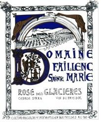 """Faillenc St Marie """"Rosé des Glaciéres"""" Corbiéres 2019 750ml"""