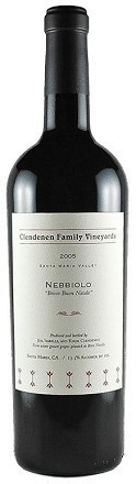"Clendenen Family Vineyards Nebbiolo ""Bricco Buon Natale"" Santa Maria Valley 2014 750ml"