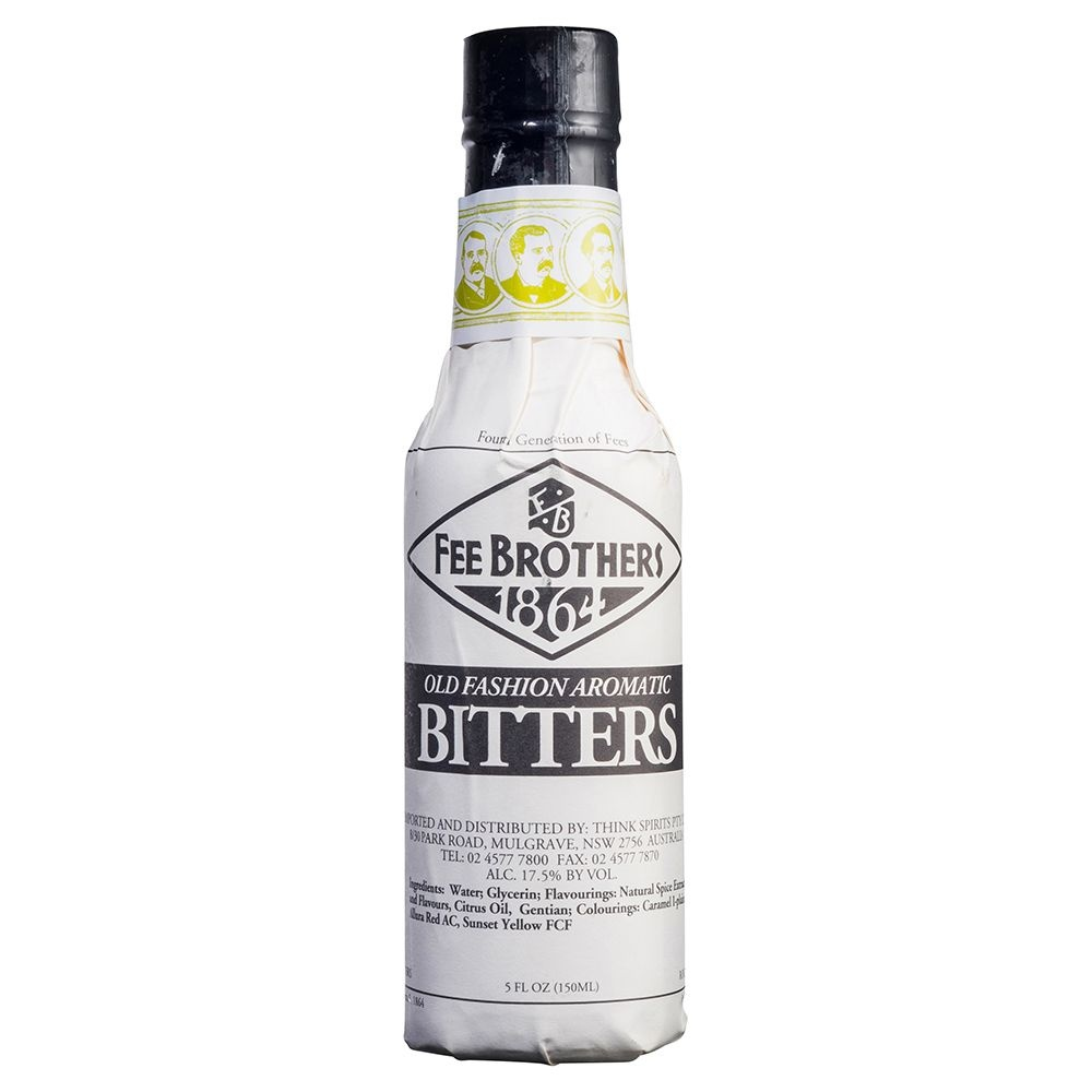 Fee Brothers Old Fashioned Aromatic Bitters 5oz