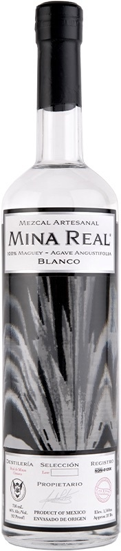 Mina Real Mezcal Blanco 750ml