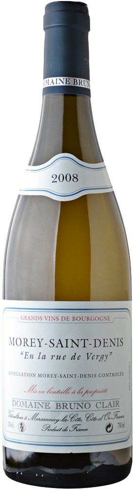 "Bruno Clair Morey-Saint-Denis ""En la rue de Vergy"" Bourgogne Blanc 2011 750ml"