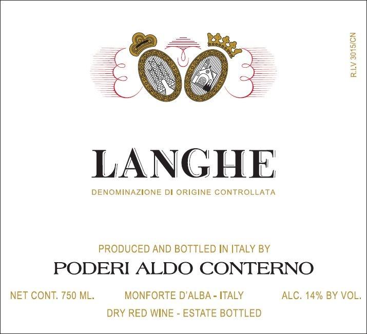 Aldo Conterno Langhe Rosso 2017 750ml