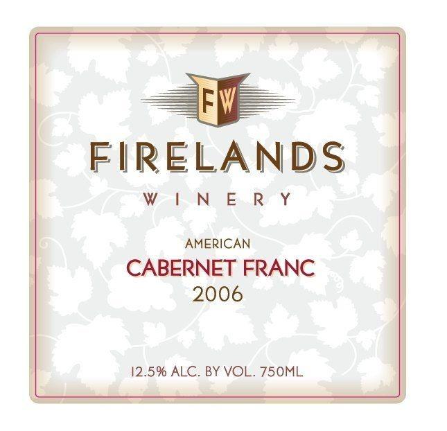 Firelands Cabernet Franc Isle St. George Ohio 2017 750ml