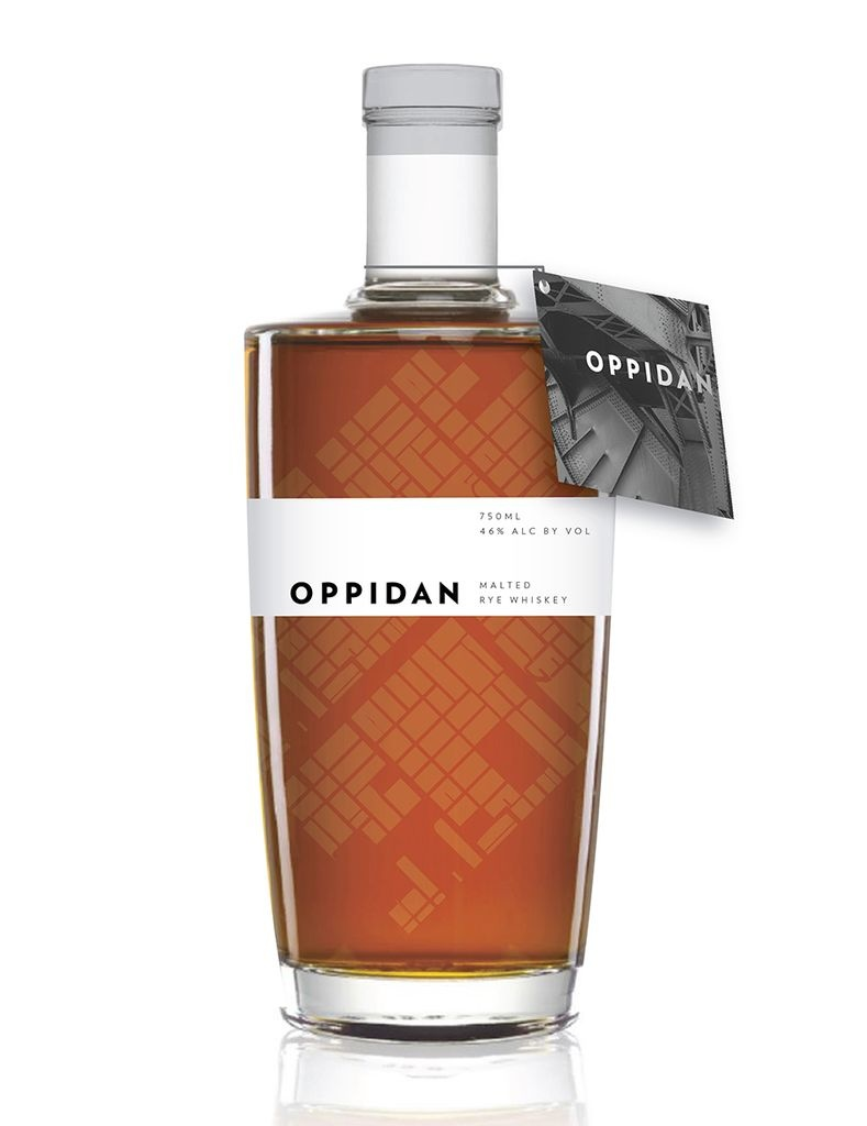 Oppidan Malted Rye Whiskey 750ml