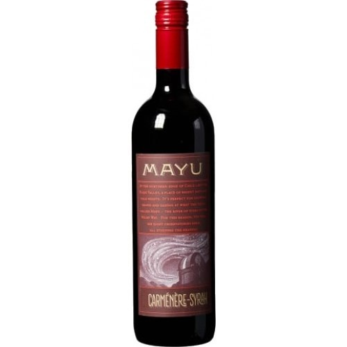 Mayu Carmenere Syrah Elqui Valley, Chile 2017 750ml