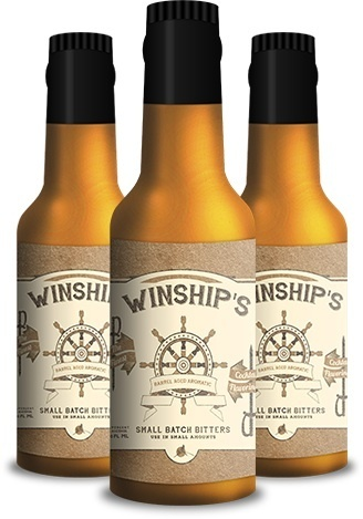 Winship's Barrel Aged Aromatic Bitters 150ml