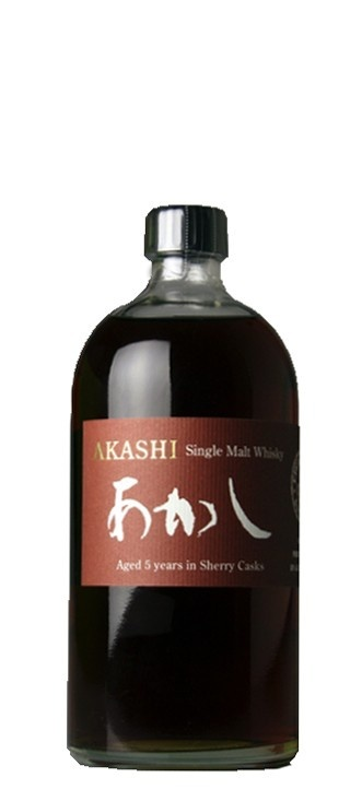Akashi White Oak Sherry Cask Finish 750ml