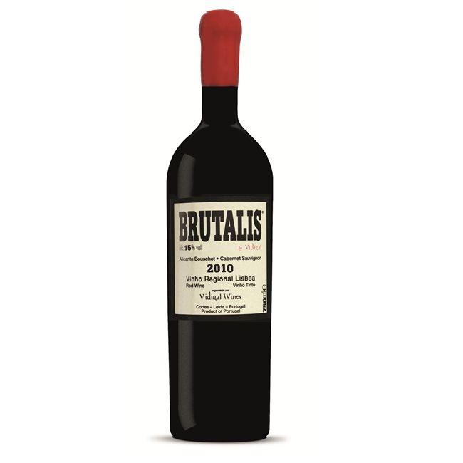"Vidigal ""Brutalis"" Alicante Buchet Cabernet Sauvignon Vinho Regional Lisboa 2015 750ml"