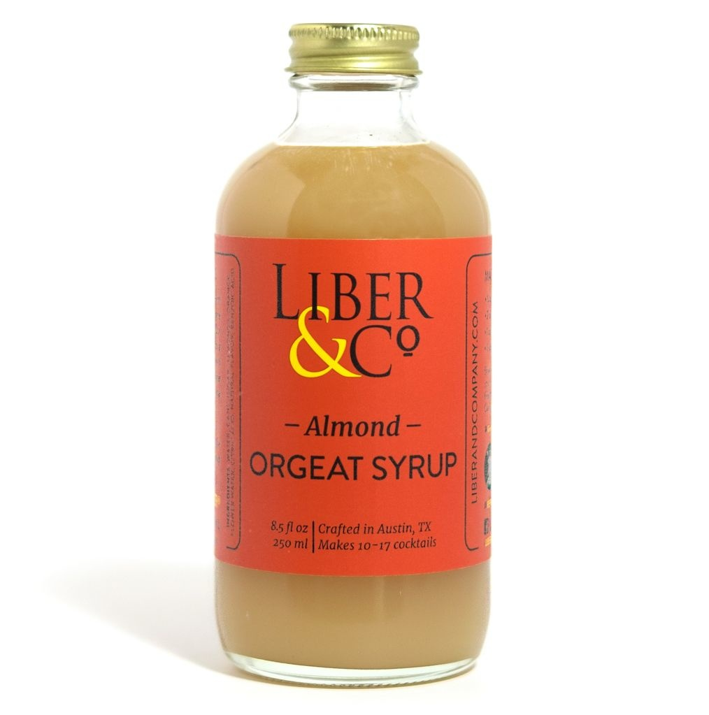 Liber & Co. Almond Orgeat Syrup 9.5oz