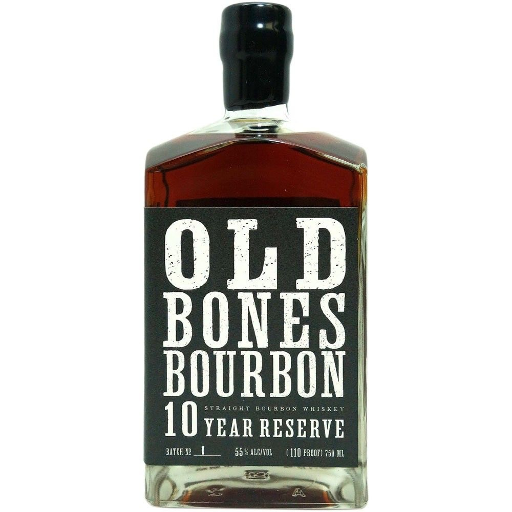 "Backbone ""Old Bones"" 10 Year Reserve Bourbon 750ml"