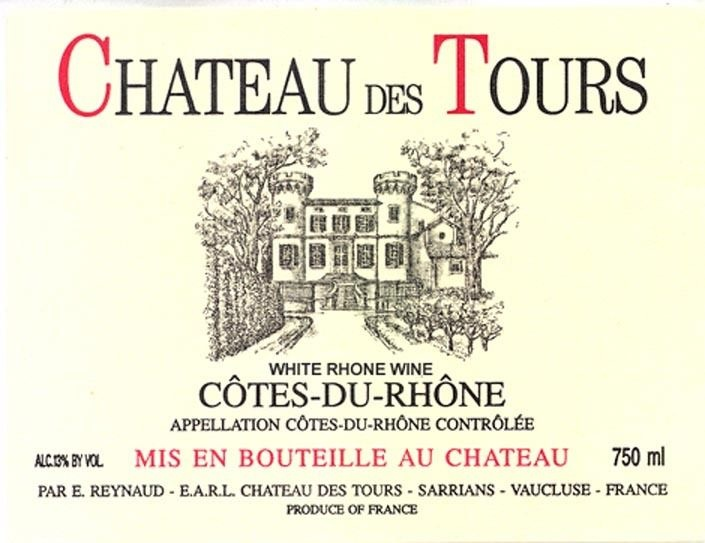 Chateau des Tours Cotes du Rhone Réserve 2016 750ml