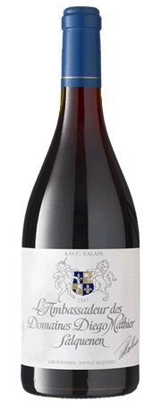 Adrian & Diego Mathier L'Ambassadeur des Domaines Diego Mathier Valais Switzerland Pinot Noir 2017 750ml