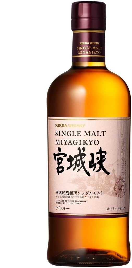 Nikka Miyagikyo Single Malt Whisky 750ml
