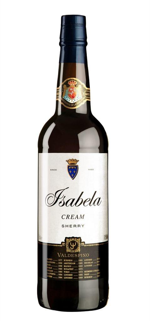 """Valdespino """"Isabela"""" Cream Oloroso Sherry 750ml"""