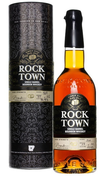 Rock Town Single Barrel Bourbon Whiskey #369 55.95% abv 750ml