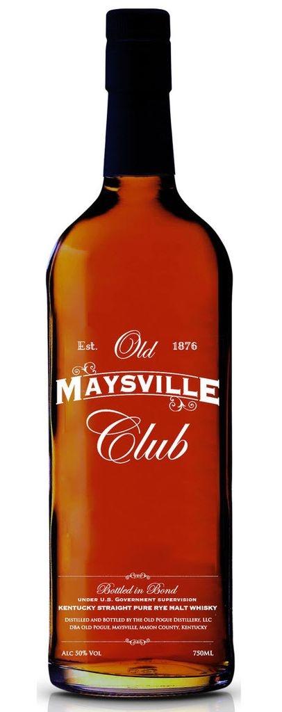Old Maysville Club Kentucky Straight Rye Malt Whiskey 750ml