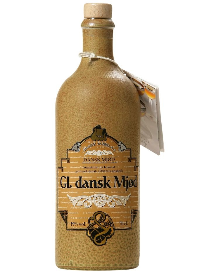 "Danska Mjod ""Gl. Dansk Mjod"" Nordic Honey Wine With Ginger and Hops Added 750ml"