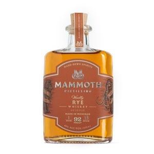 "Mammoth Distilling ""Woolly"" Rye Whiskey 750ml"