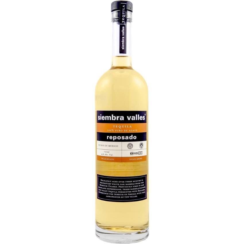 Siembra Valles Tequila Reposado 750ml
