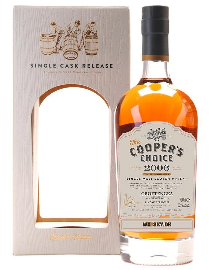 Cooper's Choice Croftengea (Loch Lomond Distillery) 2006 Heavily Peated 750ml