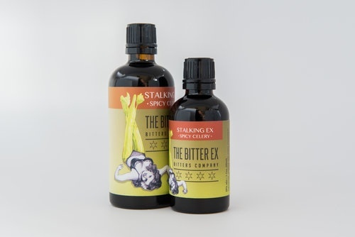 """The Bitter Ex """"Stalking Ex"""" Spicy Celery Bitters 50ml"""
