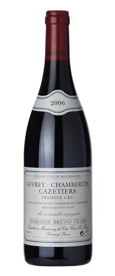 Bruno Clair Gevrey-Chambertin Cazetiers 1er Cru 2012 750ml