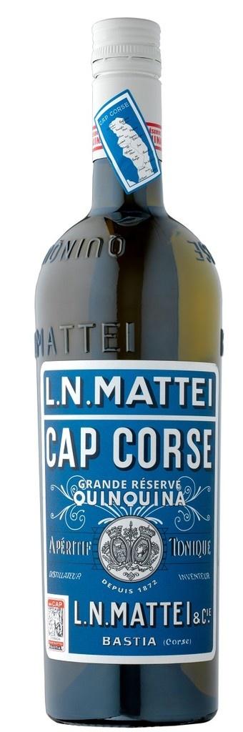 "L.N. Mattei ""Cap Corse"" Quinquina Vin Aperitif Blanc 750ml"