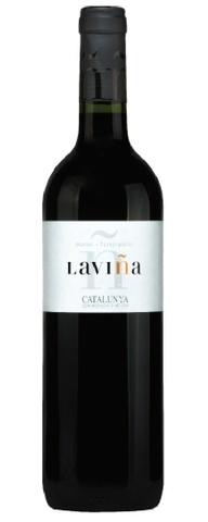 Laviña Tempranillo Merlot Catalunya 2018 750ml