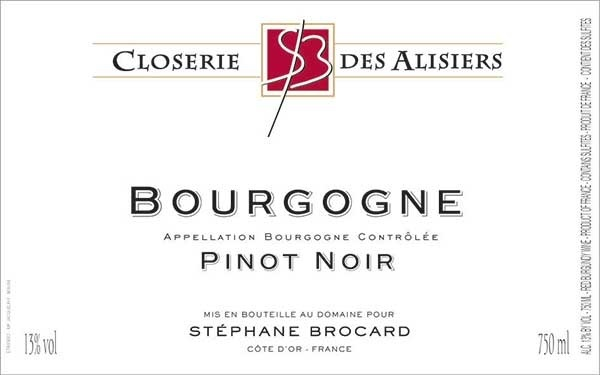 Closerie des Alisiers Bourgogne Rouge 2017 750ml