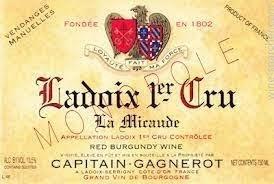 Domaine Capitain-Gagnerot Ladoix 1er Cru La Micaude 2015 750ml
