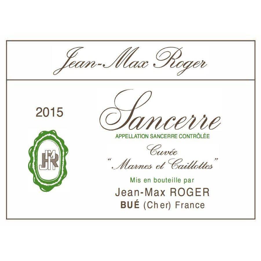 "Jean-Max Roger ""Cuvée Marnes et Caillottes"" Blanc 2018 750ml"