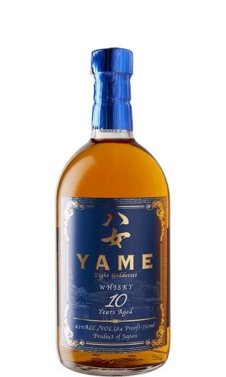"Yame ""Eight Goddesess"" 10 Years Aged Japanese Whisky 750ml"