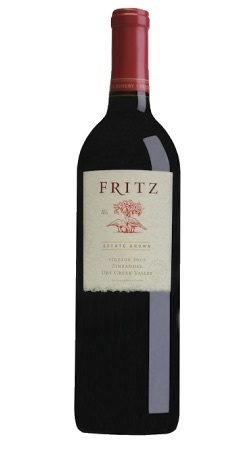 Fritz Winery Zinfandel Dry Creek Valley Sonoma County 2016 750ml