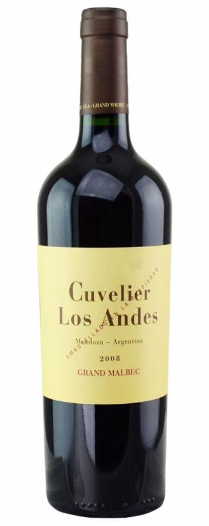 """Cuvelier Los Andes """"Grand Malbec"""" Valle de Uco Mendoza 20167 750ml"""