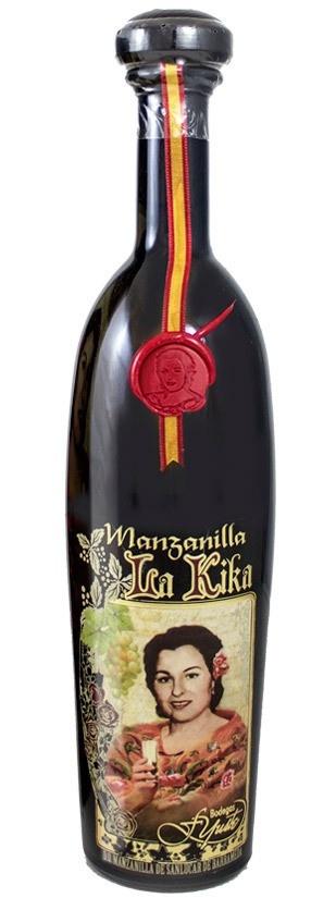 """Yuste """"La Kika"""" Manzanilla 375ml"""