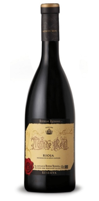 Monte Real Rioja Reserva 2014 750ml