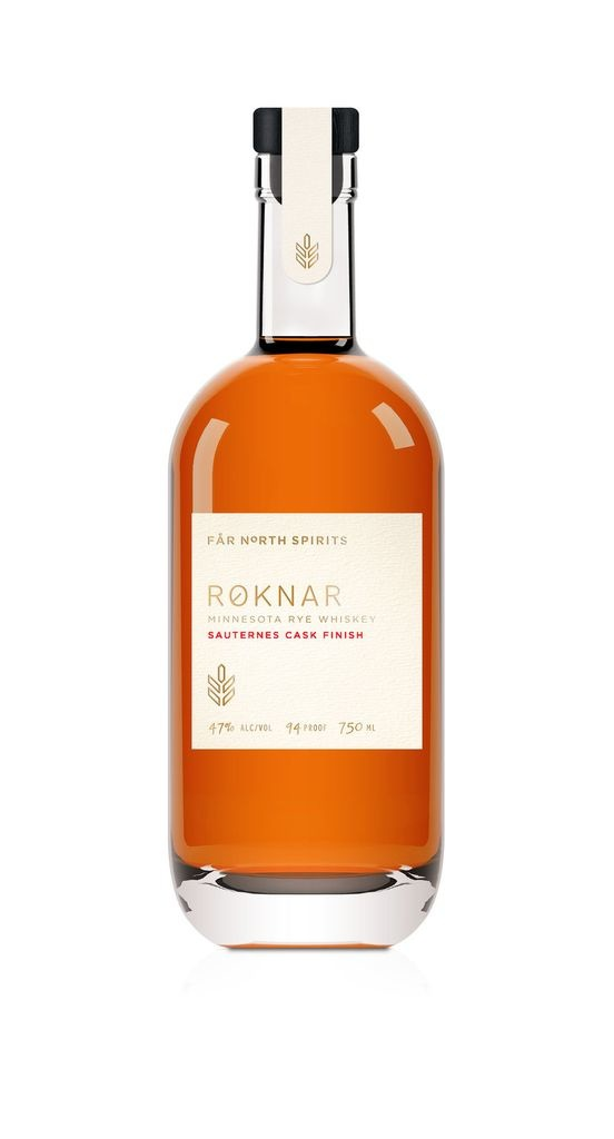 "Far North Spirits ""Roknar"" Sauternes Cask Finish Rye Whiskey 750ml"