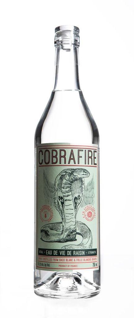 """Domaine d'Espérance """"Cobra Fire"""" Eau de Vie de Raisin 750ml"""