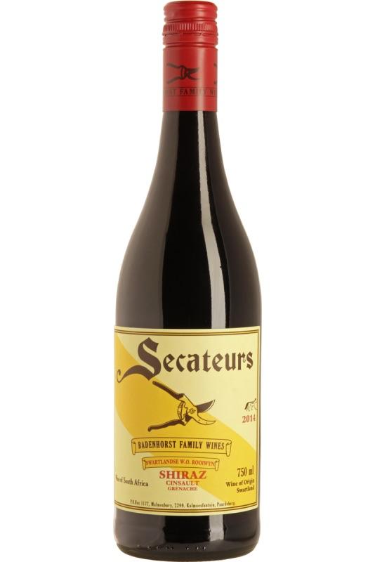 Badenhorst Secateurs 2016 Red Wine Swartland 750ml
