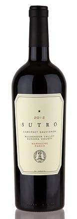 Sutro Cabernet Sauvignon Alexander Valley Sonoma County Warnecke Ranch 2014 750ml