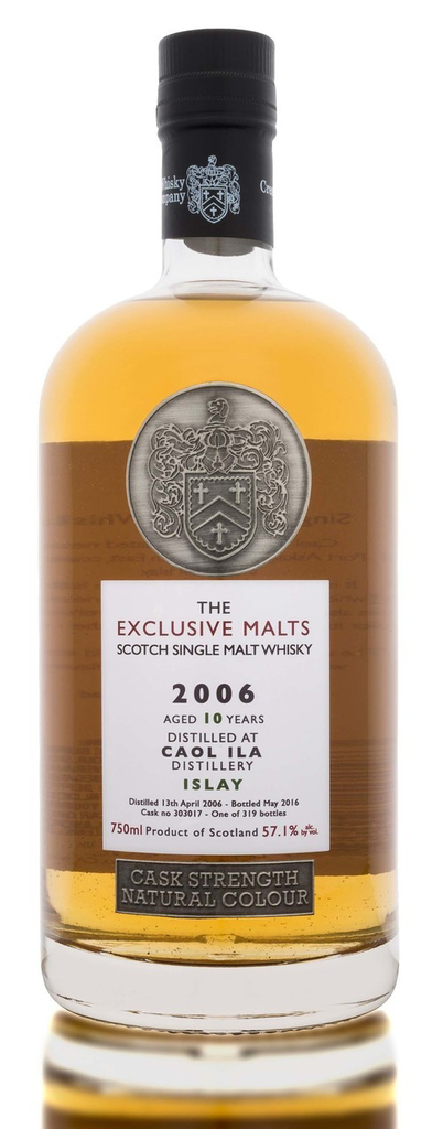 The Exclusive Malts Caol Ila 10 Year 2006 Cask Strength 57.1%abv 750ml