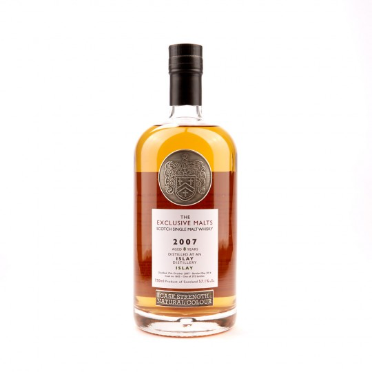 The Exclusive Malts Islay 2007 8 Year Cask Strength 57.1%abv 750ml
